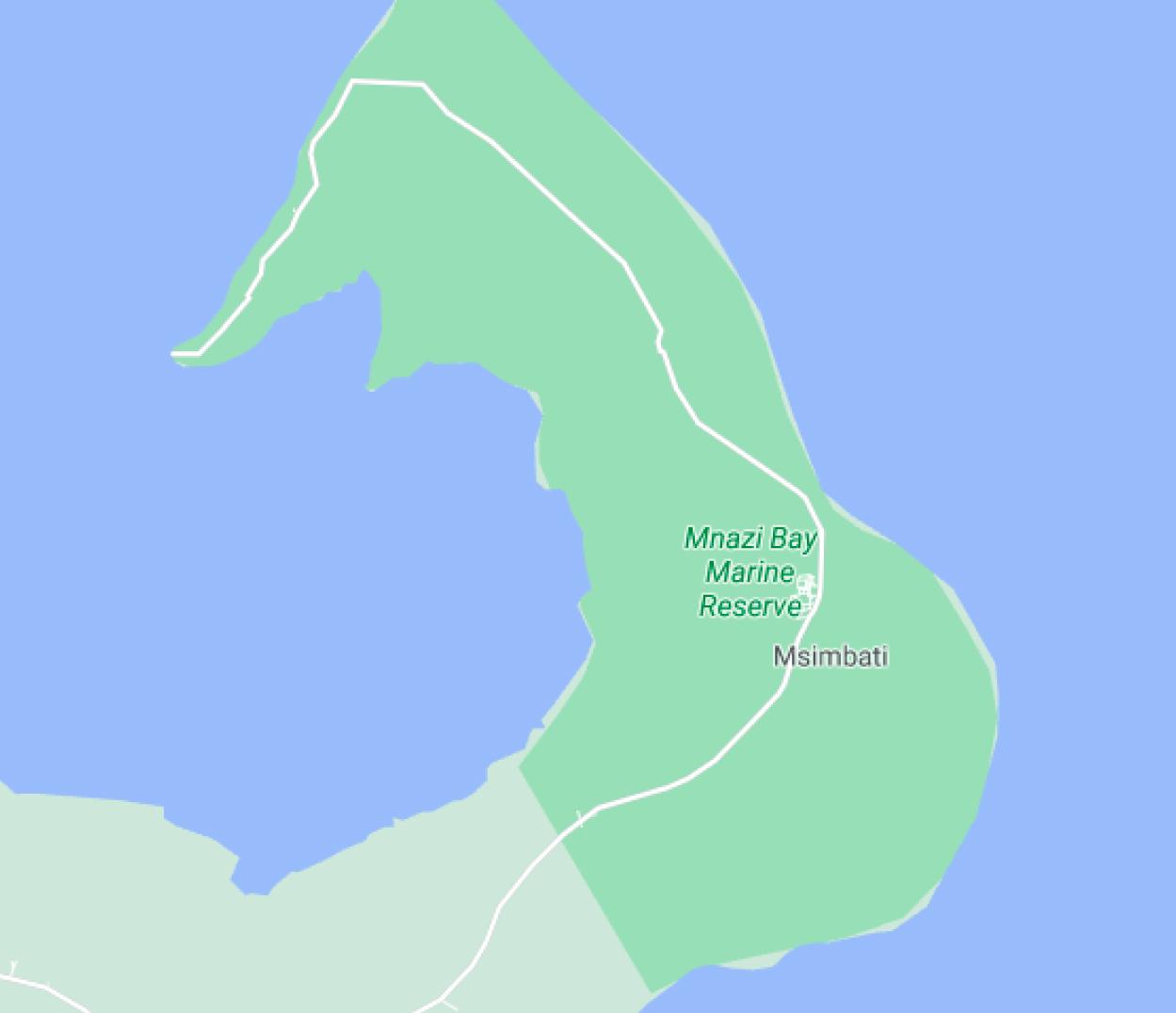 mzani-bay-map